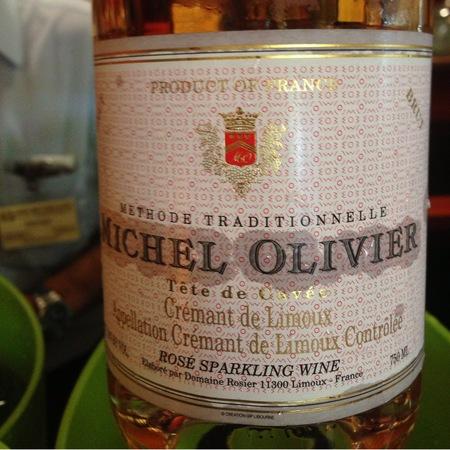 Michel Olivier Tete de Cuvee Brut Crémant de Limoux Rosé NV
