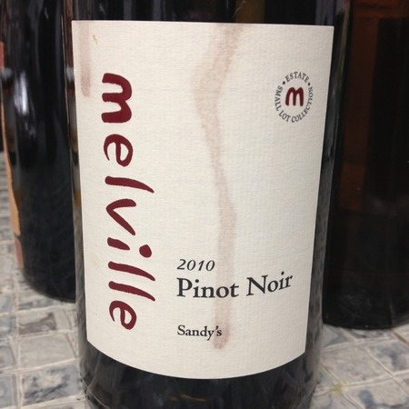 Melville Sandy's Sta. Rita Hills Pinot Noir 2015