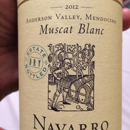 Navarro Vineyards Anderson Valley Dry Muscat Blanc 2000