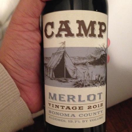 Hobo Wine Company Camp Sonoma County Merlot 2016