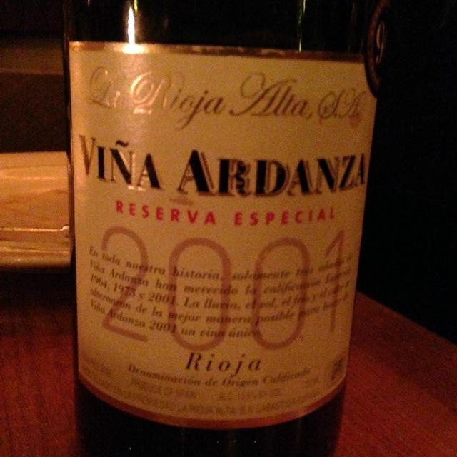 La Rioja Alta Viña Ardanza Reserva Especial Tempranillo Blend 2008