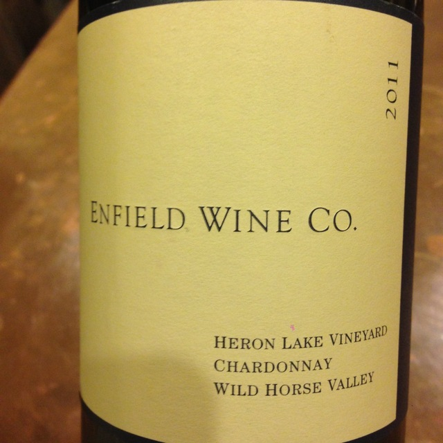 Enfield Wine Co. Heron Lake Vineyard Chardonnay 2014