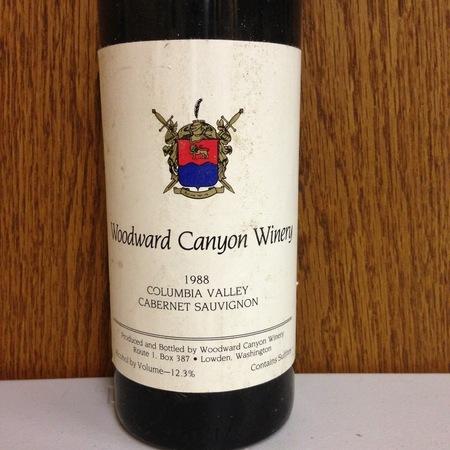 Woodward Canyon Columbia Valley Cabernet Sauvignon 1999