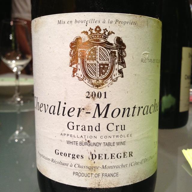 Georges Deleger Chevalier-Montrachet Grand Cru Chardonnay 1996