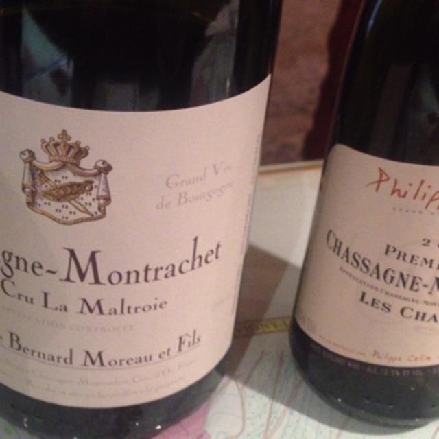 Domaine Bernard Moreau & Fils La Maltroie Chassagne-Montrachet 1er Cru Chardonnay 2015
