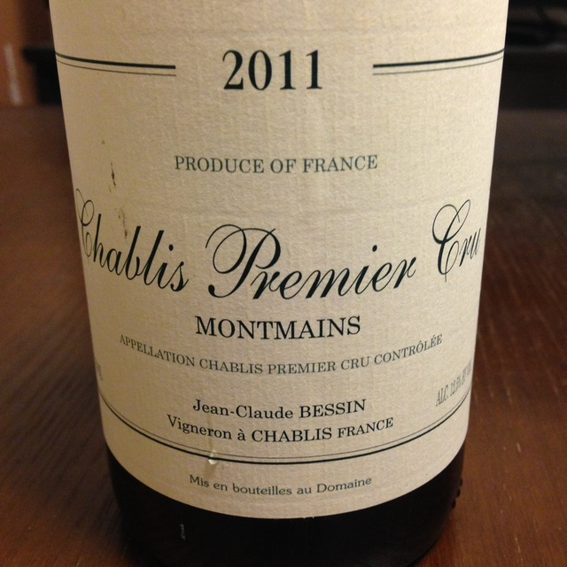 Montmains Chablis 1er Cru Chardonnay 2014