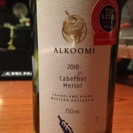 Alkoomi Cabernet-Merlot Blend 2014