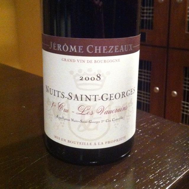 Les Vaucrains Nuits-Saint-Georges 1er Cru Pinot Noir 2012