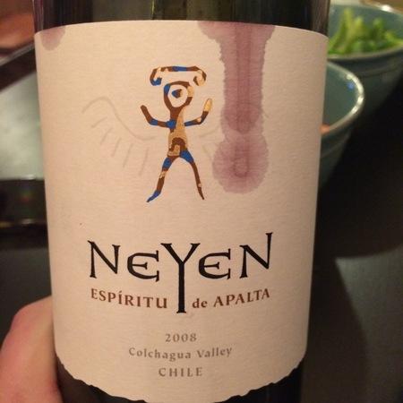 Neyen Espíritu de Apalta Colchagua Valley Carménère Cabernet Sauvignon 2012