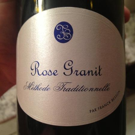Franck Besson Rose Granit Gamay Rosé NV