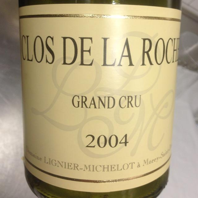 Clos de la Roche Grand Cru Pinot Noir 2004 (1500ml)