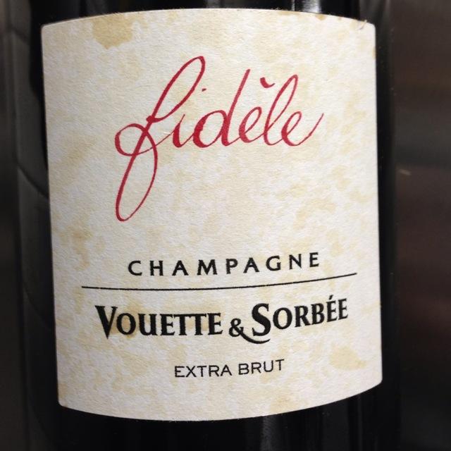 Vouette et Sorbée Fidéle Extra Brut Blanc de Noirs Champagne Pinot Noir NV