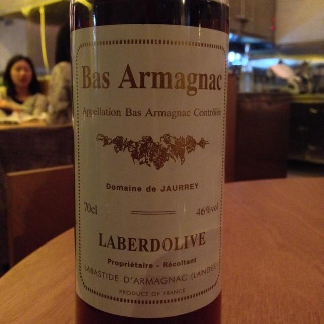 Laberdolive Bas Armagnac 1988