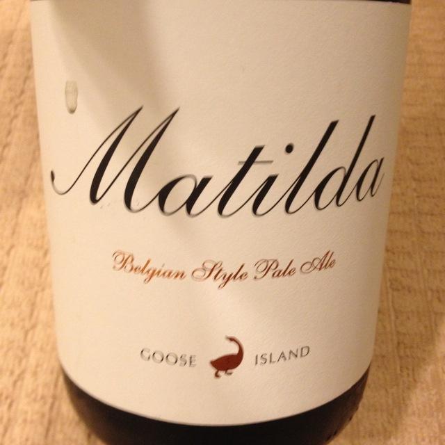 Matilda Belgian Style Pale Ale NV