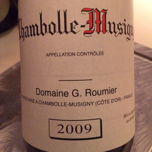 Chambolle-Musigny Pinot Noir 2014