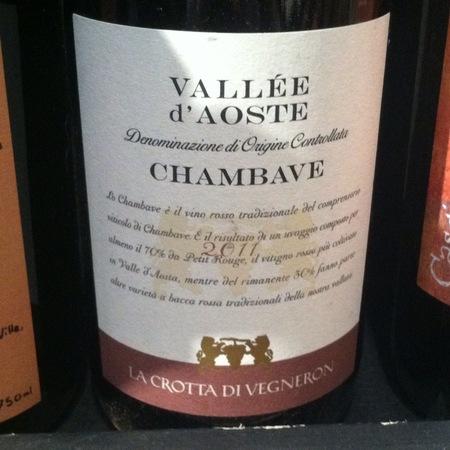 La Crotta di Vegneron Chambave Pinot Nero 2014