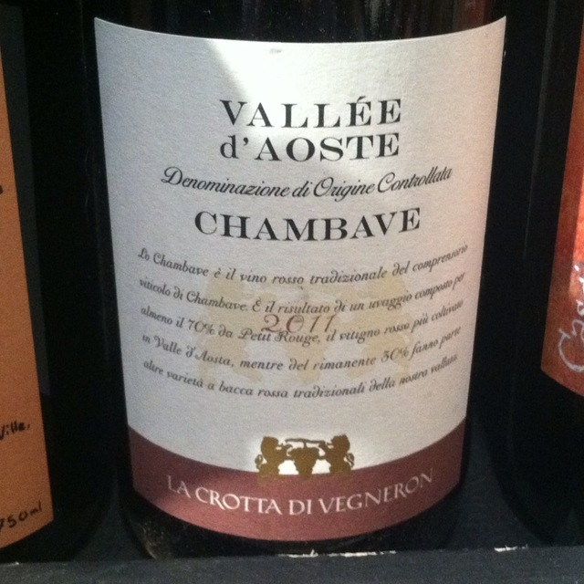Chambave Pinot Nero 2014