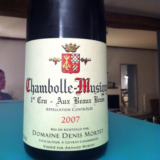Aux Beaux Bruns Chambolle-Musigny 1er Cru Pinot Noir 2013