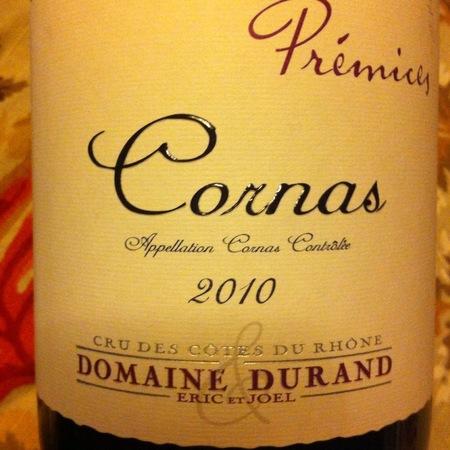 Domaine Durand (Eric & Joel Durand) Premices Cornas Syrah 2013