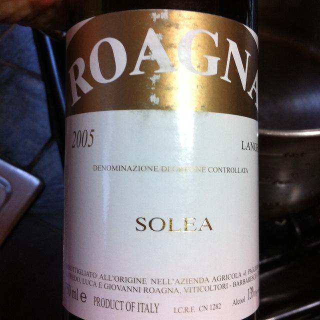 Roagna Solea Langhe Chardonnay Blend 2014