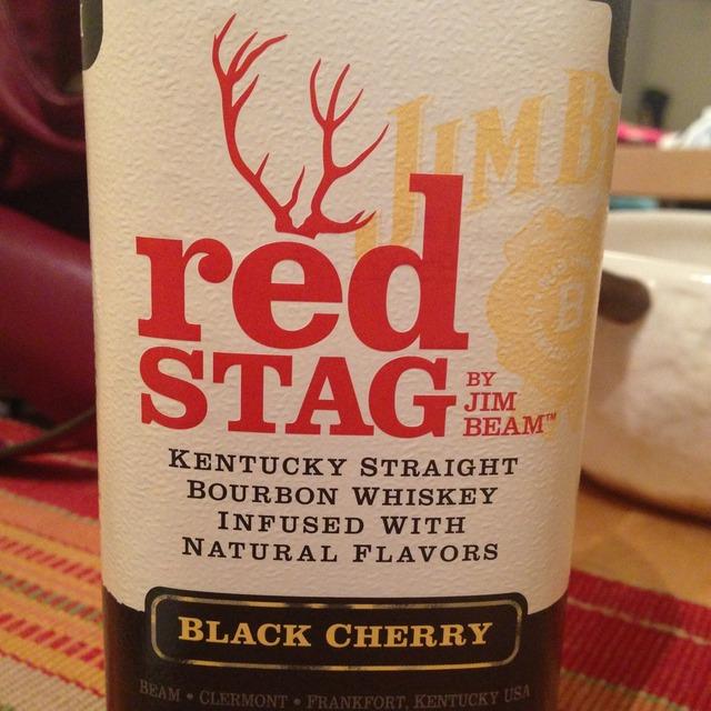 Red Stag Kentucky Straight Bourbon Black Cherry Whiskey NV