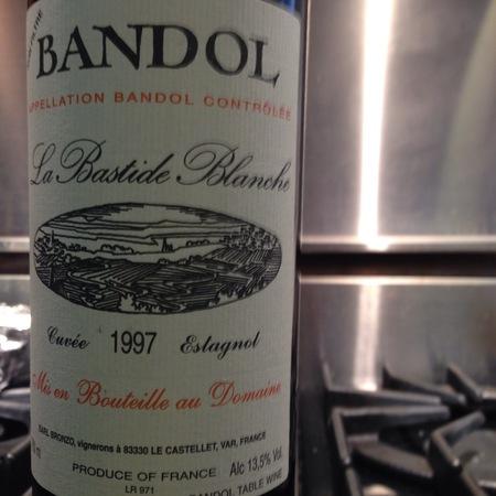 La Bastide Blanche Cuvée Estagnol Bandol Mourvedre Blend 2013