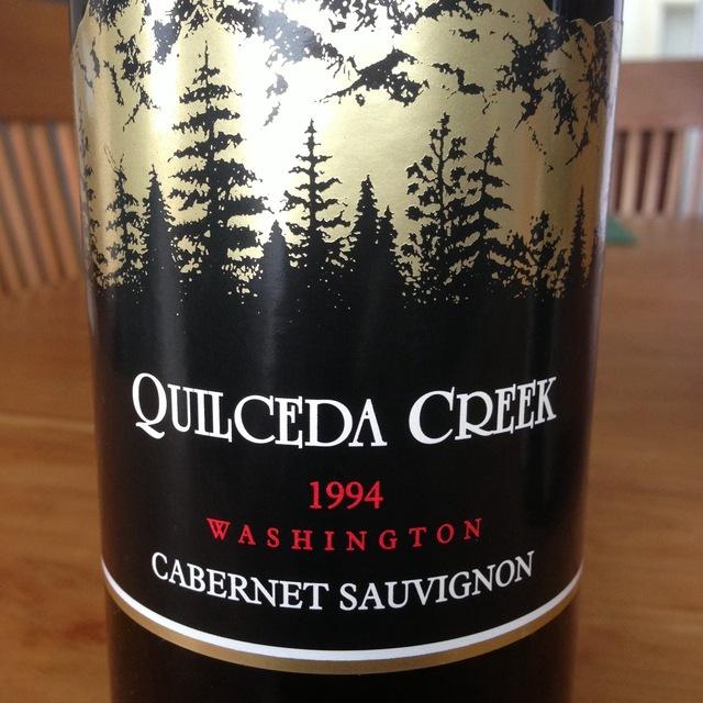 Quilceda Creek Washington Cabernet Sauvignon 1994