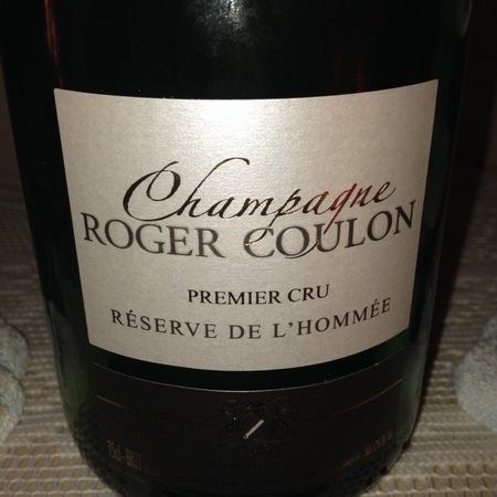 Roger Coulon Réserve de l'Hommée Brut 1er Cru Champagne Blend NV