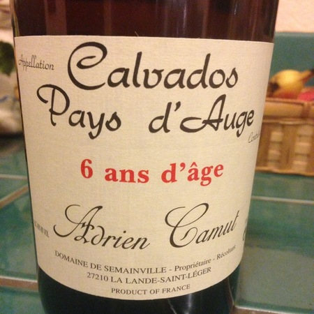 Adrien Camut Calvados du Pays d'Auge 6 ans d'Age NV