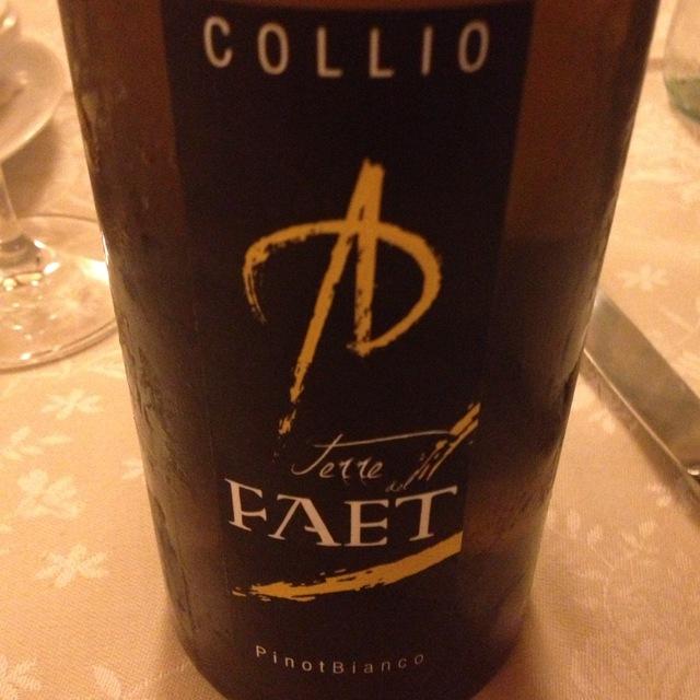 Terre Del Faet Pinot Bianco Collio Goriziano DOC NV