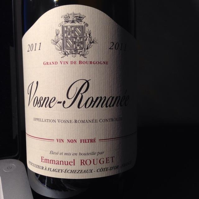 Vosne-Romanée Pinot Noir 2011