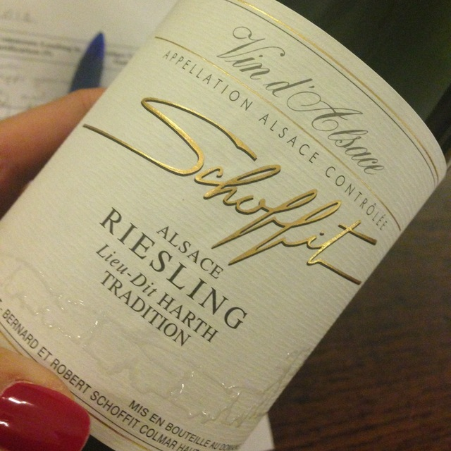 Lieu Dit Harth Tradition Alsace AOC Riesling 2013