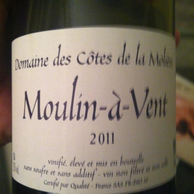 Moulin-à-Vent Gamay 2009