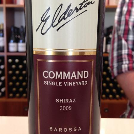 Elderton Barossa Command Single Vineyard Shiraz 2009