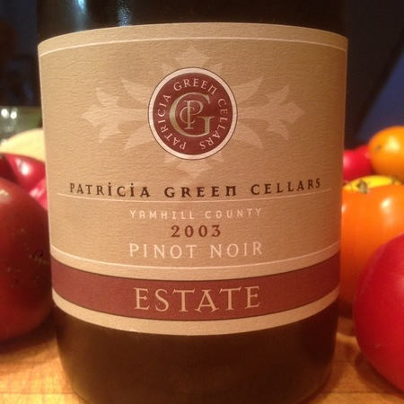 Patricia Green Cellars Estate Yamhill County Pinot Noir 2015