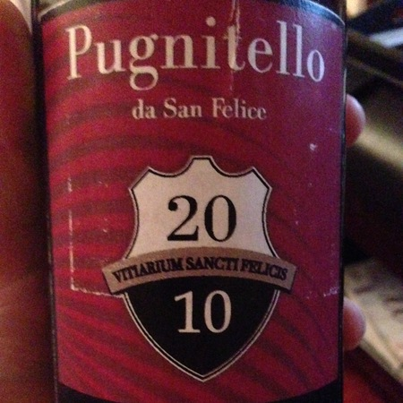 Agricola San Felice Toscana Pugnitello 2010
