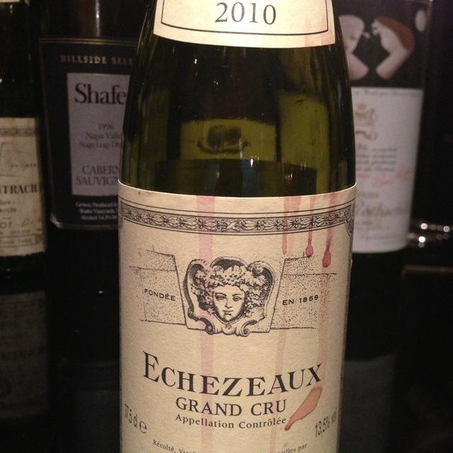 Echezeaux Grand Cru Pinot Noir 1996