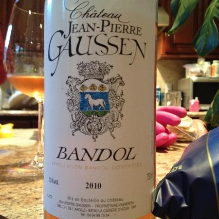 Château Jean-Pierre Gaussen Rosé Bandol 2016