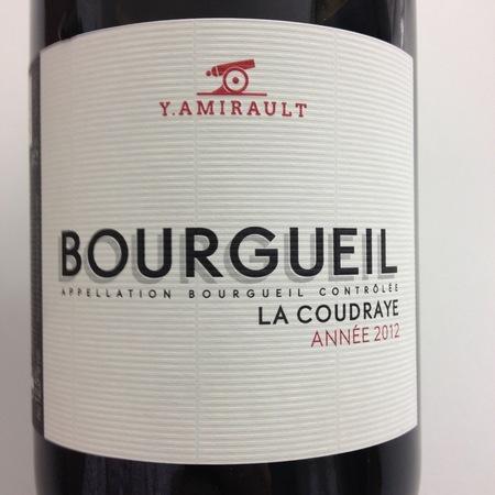Yannick Amirault La Coudraye Bourgueil Cabernet Franc 2015