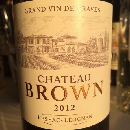 Château Brown Pessac-Léognan Red Bordeaux Blend 2012