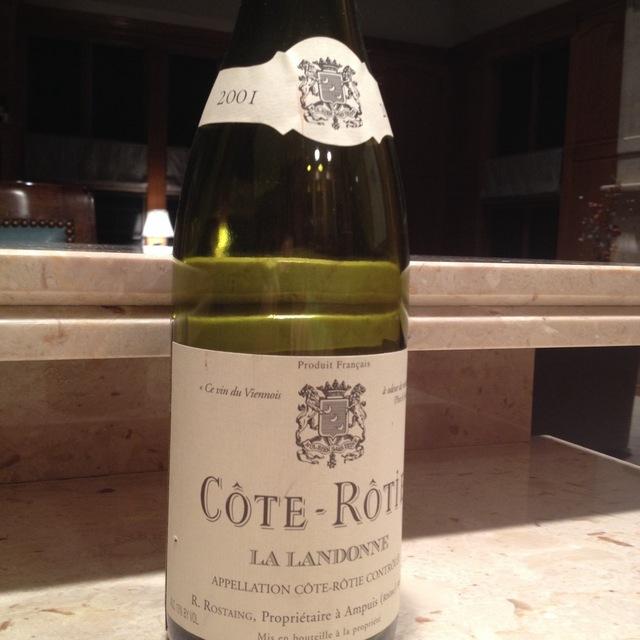 Rene Rostaing La Landonne Côte-Rôtie Syrah 2001