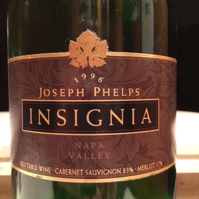 Insignia Napa Valley Cabernet Sauvignon Blend 1996