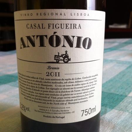 Casal Figueira António Branco White Blend 2015