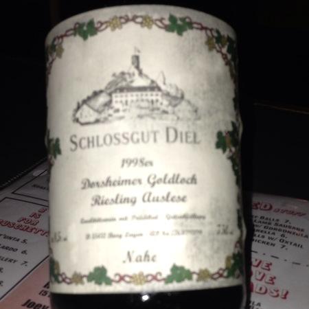 Schlossgut Diel Dorsheimer Goldloch Auslese Riesling 1998