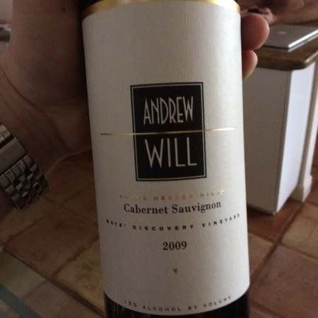 Andrew Will Mays' Discovery Vineyard Cabernet Sauvignon NV