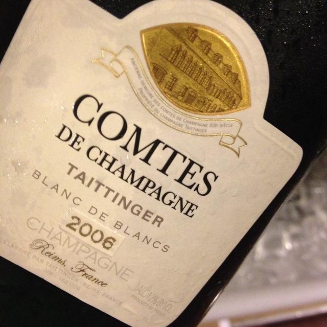 Comtes de Champagne Brut Blanc de Blancs Champagne Chardonnay 2006