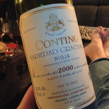 Viñedos del Contino (CVNE) Rioja Contino Variedad Graciano 1996