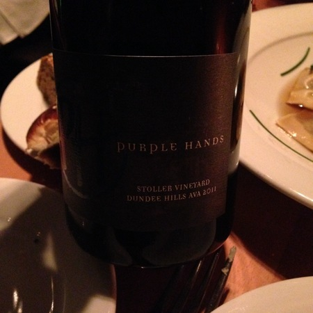 Purple Hands Stoller Vineyard Pinot Noir 2015