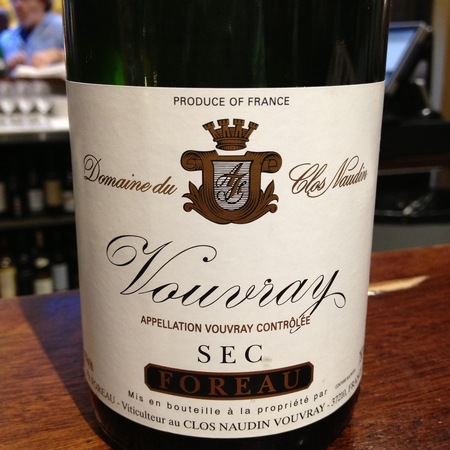 Foreau - Domaine du Clos Naudin Vouvray Sec Chenin Blanc 2015