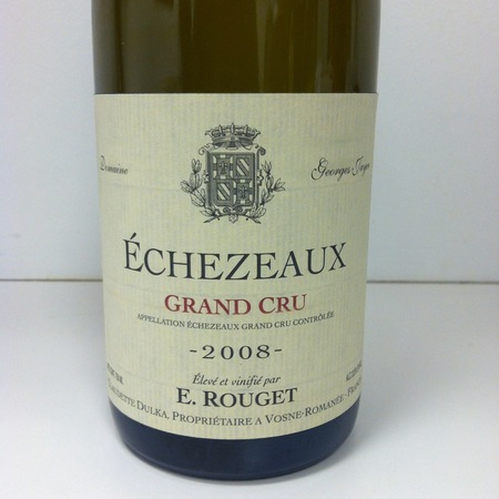 Emmanuel Rouget Echezeaux Grand Cru Pinot Noir 2008